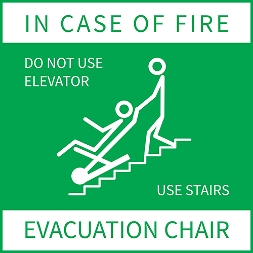 Evacuation Chair Training - First-Aide Health & Safety