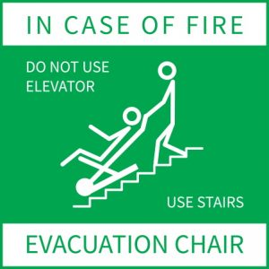 Evac Chair ``| Evacuation|Disabilities - First-Aide Health and Safety Ltd